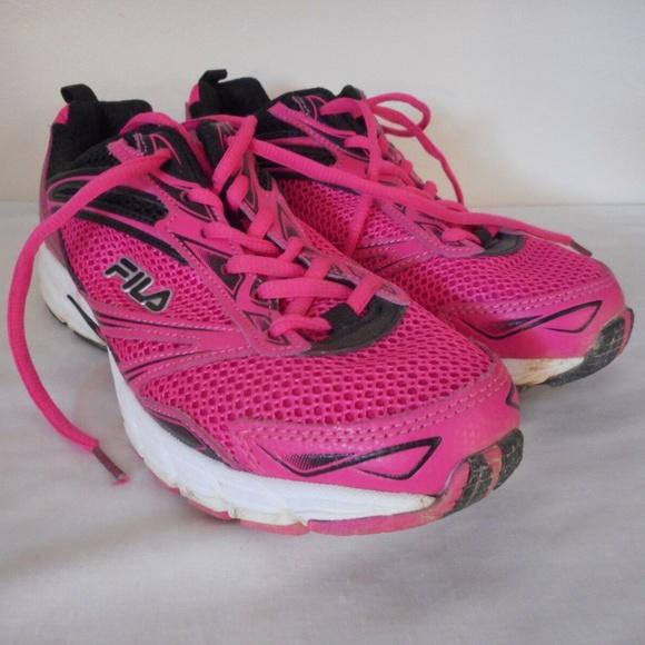 Fila Shoes | Fila Womens Pink Black